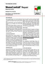 MonoConfalt® REPAIR Datenblatt
