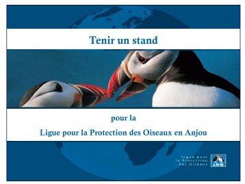 Tenir un stand à la LPO (pdf) - LPO Anjou