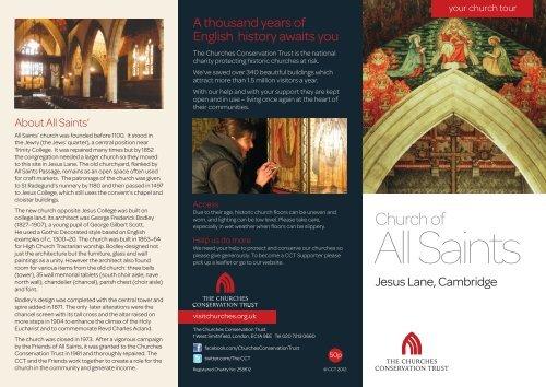 All Saints' Church, Cambridge, Cambridgeshire - The Churches ...