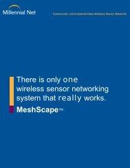 Commercial- and Industrial-Class Wireless Sensor ... - Millennial Net