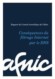 Conséquences du filtrage Internet par le DNS - Afnic