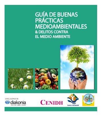 GUÍA DE BUENAS PRÁCTICAS MEDIOAMBIENTALES - Centro ...