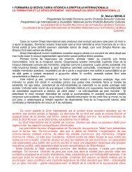 Rezumat Nr.1 - caiete de drept international