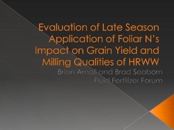B. Arnall - Fluid Fertilizer Foundation