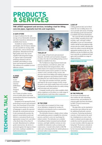 Asecos(Safety Management October 2012) - tb2b media