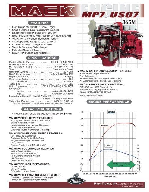 MP7 US07 365M Bruckners Truck Sales