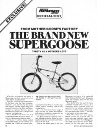 mongoose supergoose 1 test - Vintage Mongoose