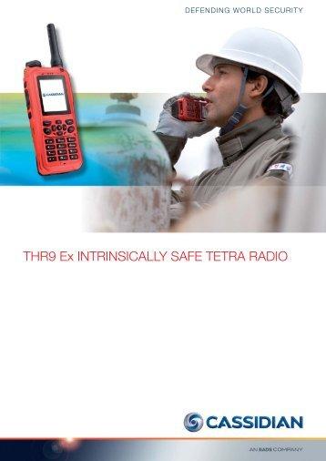 THR9 Ex INTRINSICALLY SAFE TETRA RADIO - Entropia Network