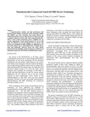 Extended abstract phd thesis