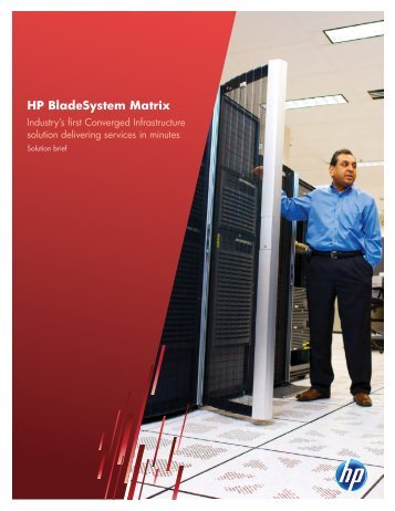 HP BladeSystem Matrix (US English) - PC Connection
