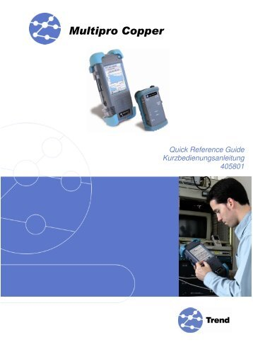 Multipro Copper Manual (english, german) - Ideal Industries