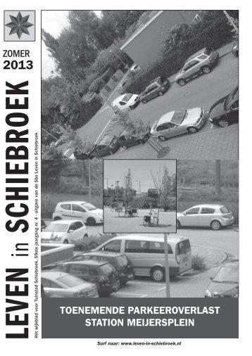 zomer toenemende parkeeroverlast station meijersplein - Leven in ...