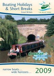 Boating Holidays & Short Breaks - Drifters Leisure