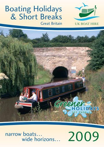 Boating Holidays & Short Breaks - Drifters Leisure