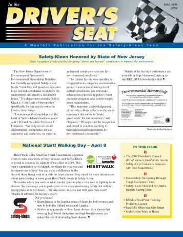 Safety-Kleen Honored by State of New Jersey - Global Images Design