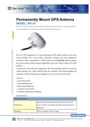 Permanently Mount GPS Antenna MODEL: RV-16 - GPS&Wireless ...