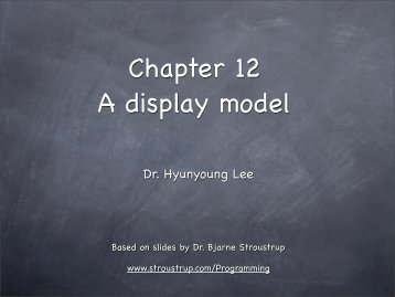 Chapter 12 A display model - TAMU Computer Science Faculty Pages