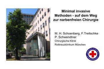 Minimal invasive Methoden - auf dem Weg zur narbenfreien Chirurgie