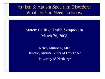 Autism & Autism Spectrum Disorders: What Do You Need To Know