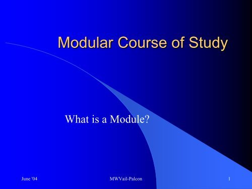 What is a Module? - USA / Canada Region