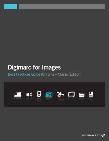 Digital Watermarking Best Practices Guide - Digimarc