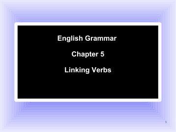 Grammar_Chapter_5.15.. - Be Cruciform!