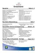 KURSPROGRAMM Frühjahr 2010 - VHS Horn - Page 2
