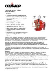 FIRE PUMP RELIEF VALVE Model 07 108-FC