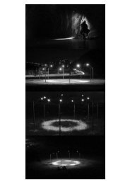 Terreiros sem luz - Departamento de Artes Plásticas