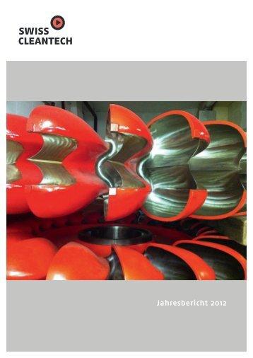 Jahresbericht 2012 - Swisscleantech