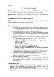 Protocol de diagnostic si tratament hepatocarcinom - Spitalul Clinic ...