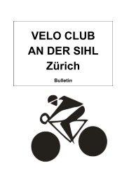 Bulletin April 2013 - Velo Club An der Sihl - Herzlich willkommen!