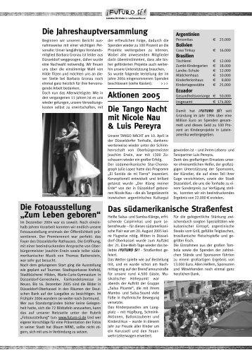 INFO 2005/06 - Futuro Si
