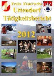 Tätigkeitsbericht 2012 - Feuerwehr Uttendorf