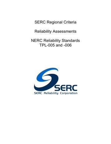 SERC Reg Criteria_Reliability Assessments_Rev 4 (10-06-11).pdf