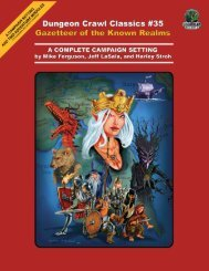 Dungeon Crawl Classics #35 Preview #2 - Goodman Games