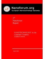 Nanoforum - Nanotech Regulatory Document Archive