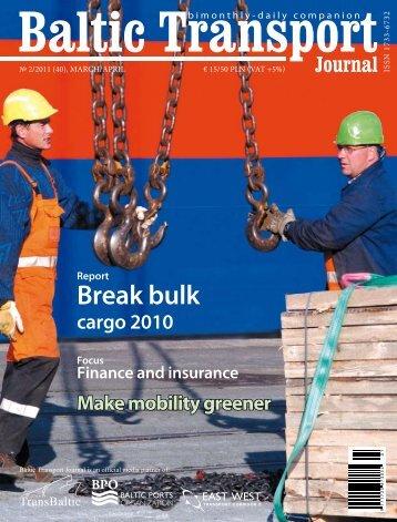 Break bulk - Baltic Press