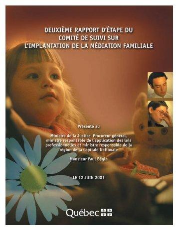 Pap rapport (Page 1) - Ministère de la Justice