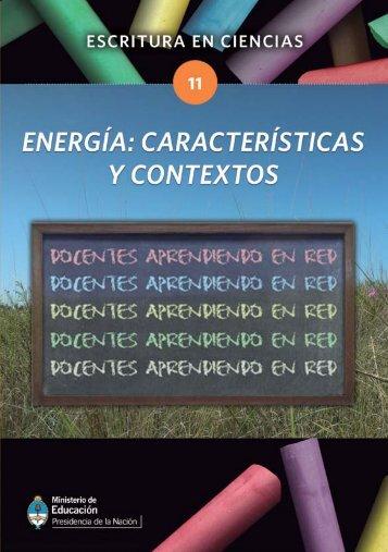 Energía - Cedoc - Instituto Nacional de Formación Docente