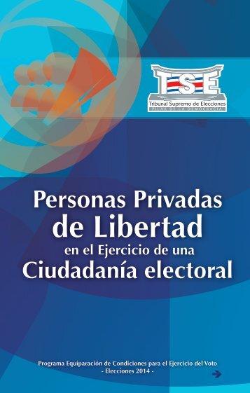Personas privadas de libertad en el ejercicio de una ciudadanía ...