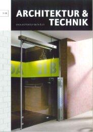 architektur & Technik 11/06