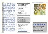 Flyer 2010 Teil 2 - Kölnische Gesellschaft für christlich-jüdische ...