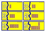 Tens in Decades Match Tens in Decades Match ... - Waikanae School