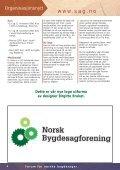 Sagbladet - Norsk Bygdesagforening - Page 4
