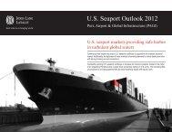 U.S. Seaport Outlook 2012 - Business Facilities