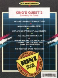 King's Quest 2 - SierraGamers