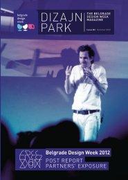Dizajn Park Magazine 2012 - Belgrade Design Week