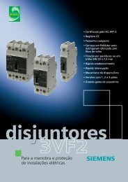 Folheto Disjuntores 3VF2-5 - Industry