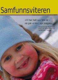 Samfunnsviteren 1/2004 - Samfunnsviterne
